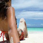 Love The Beach Poster