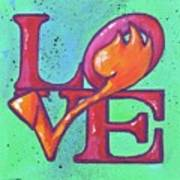 Love Tulips Poster