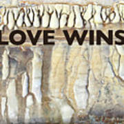 Love Wins Poster by Kevyn Bashore