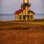 Lovely Point Cabrillo Light Station Poster