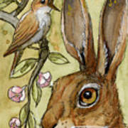 Lovely Rabbits - By Listening To The Song Poster