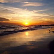 Lovely Sunset Poster
