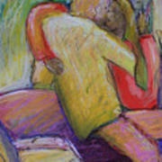 Lovers Embrace Poster