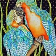 Loving Birds Poster