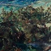Lovis Corinth Tapes 1858-1925 Zandvoort Coast At Nienhagen. 1917th Poster