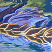 Low Tide On Cross Island Poster