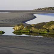 Low Tide On Tybee Island Poster