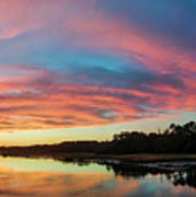 Lowcountry Sunset Charleston Sc Poster by Dustin K Ryan