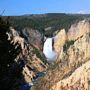 Lower Falls @ Yellowstone National Park Poster