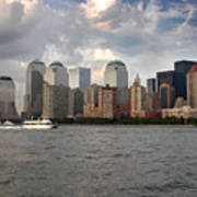 Lower Manhattan From The Hudson Poster