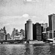 Lower Manhattan Poster