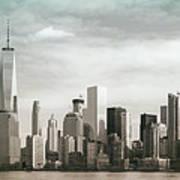 Lower Manhattan Panoramic Skyline Poster