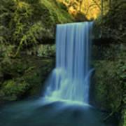 Lower South Falls Landscape Poster