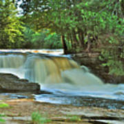 Lower Tahquamenon Falls Poster
