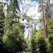 Lower Yosemite Falls Poster