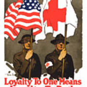 Loyalty To One Means Loyalty To Both Poster