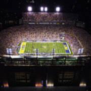 Lsu Aerial View Of Tiger Stadium Poster