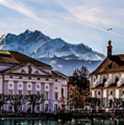 Lucerne's Architecture Poster