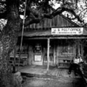 Luckenbach Texas Poster