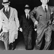 Lucky Luciano 1896-1962, Being Escorted Poster by Everett