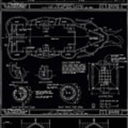 Lucy The Elephant Building Patent Blueprint 3 Poster