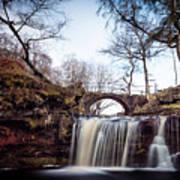 Lumb Falls Panoramic Poster