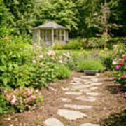 Lush Landscaped Garden Poster