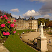 Luxembourg Palace Poster