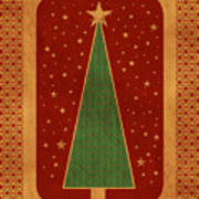 Luxurious Christmas Card Poster