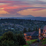 Luxury Homes In Happy Valley Oregon Poster