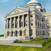 Luzerne County Courthouse Poster