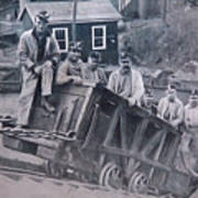 Lykens Valley Miners Poster