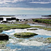 Lyme Regis Seascape 4 - October Poster