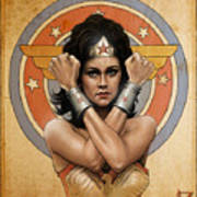 Lynda Carter Poster
