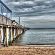 Lynnhaven Fishing Pier, Ocean Side Poster
