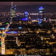 Lyon's Skyscrapers Poster