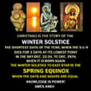 Ma Ra Solstice Poster