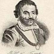 Maarten Harpertszoon Tromp 1598 - 1653 Poster