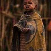 Maasai Boy Poster