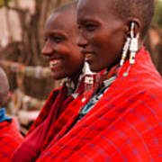 Maasai Women Poster