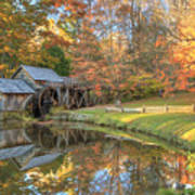 Mabry Mill. Blue Ridge Parkway Poster