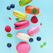 Falling In Love With Macaroons  Poster