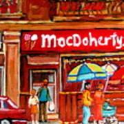 Macdohertys Icecream Parlor Poster