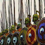 Macedonian Phalanx Poster