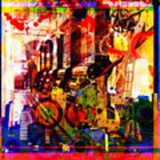 Machine Age-1 Poster by Gary Grayson