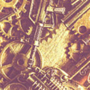 Machine Guns Poster