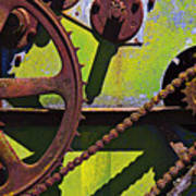 Machinery Gears  Poster