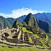 Machu Picchu Poster by Kelly Cheng Travel Photography