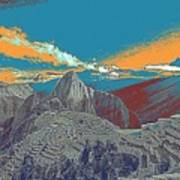 Machu Picchu Travel Poster Poster