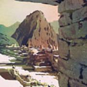 Machu Picchu Vista- Peru Poster